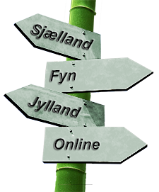 Jeg underviser på Sjælland, Fyn, i Jylland og Online