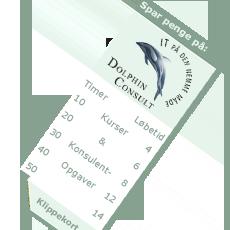 Køb dit konsulent klippekort hos Dolphin Consult